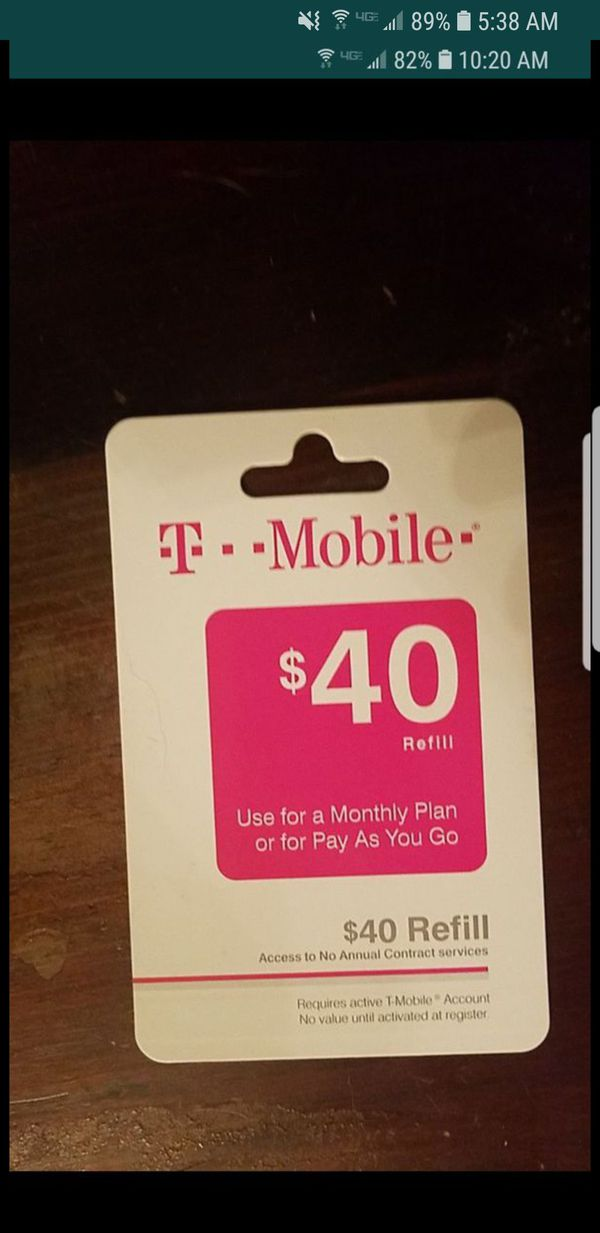 Tmobile Card For Sale In San Tan Valley Az Offerup