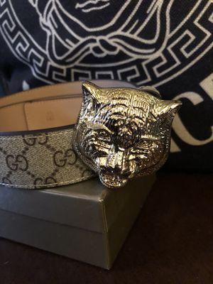 Gucci feline Belt for Sale in Silver Spring, MD