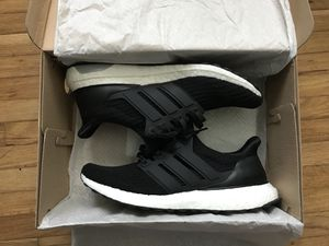 70b452cd09f Adidas UltraBoost 4.0 Core Black worn 1x size 8.5 for Sale in Daly City