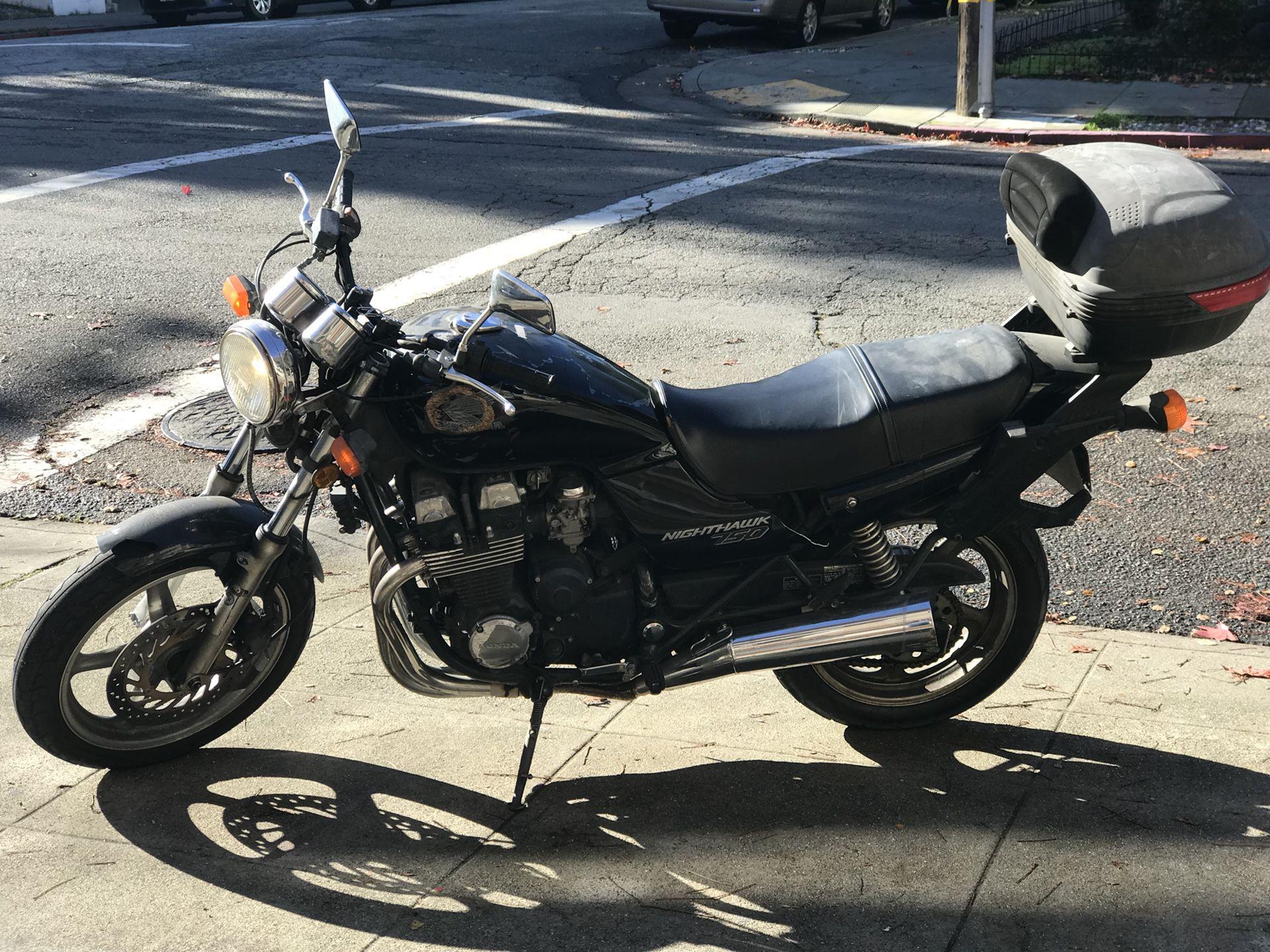 2002 Honda CB750 Nighthawk