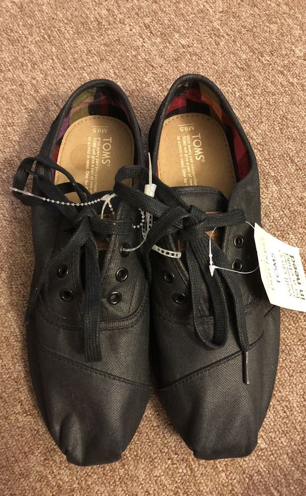 691231a1ca8 TOMS Cordones Black Wax Twill Black - Size 9.5 for Sale in Daly City ...