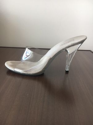 Clear Cinderella heels for Sale in Denver, CO