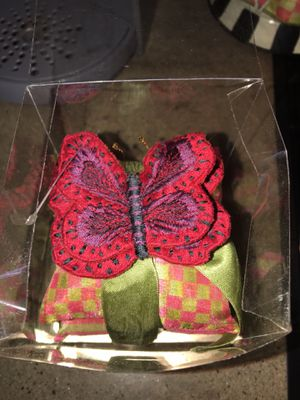 Mackenzie Childs butterfly sachets for Sale in Kissimmee, FL