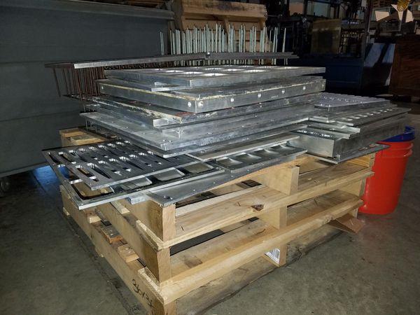 Scrap 6061 aluminum molds dies 1000 plus pounds worth for Sale in Bartlett,  IL - OfferUp