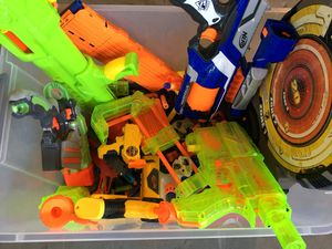 NERF guns plus bullets for Sale in Chantilly, VA