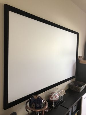 "92"" projector screen for Sale in Tampa, FL"