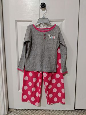 Girls 2-piece pajama set by Carters, Size 3T for Sale in Dulles, VA