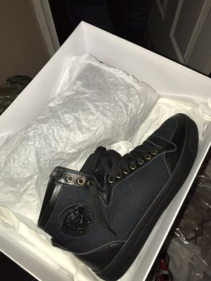 Black Versace Shoes for Sale in Fort Washington, MD