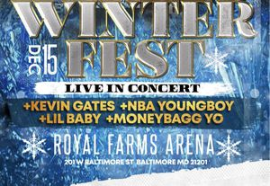 Sat Dec 15th 7pm 92Q Winter Festival- Kevin Gates,YoungBoy Never Broke Again. moneybag for Sale in Clinton, MD