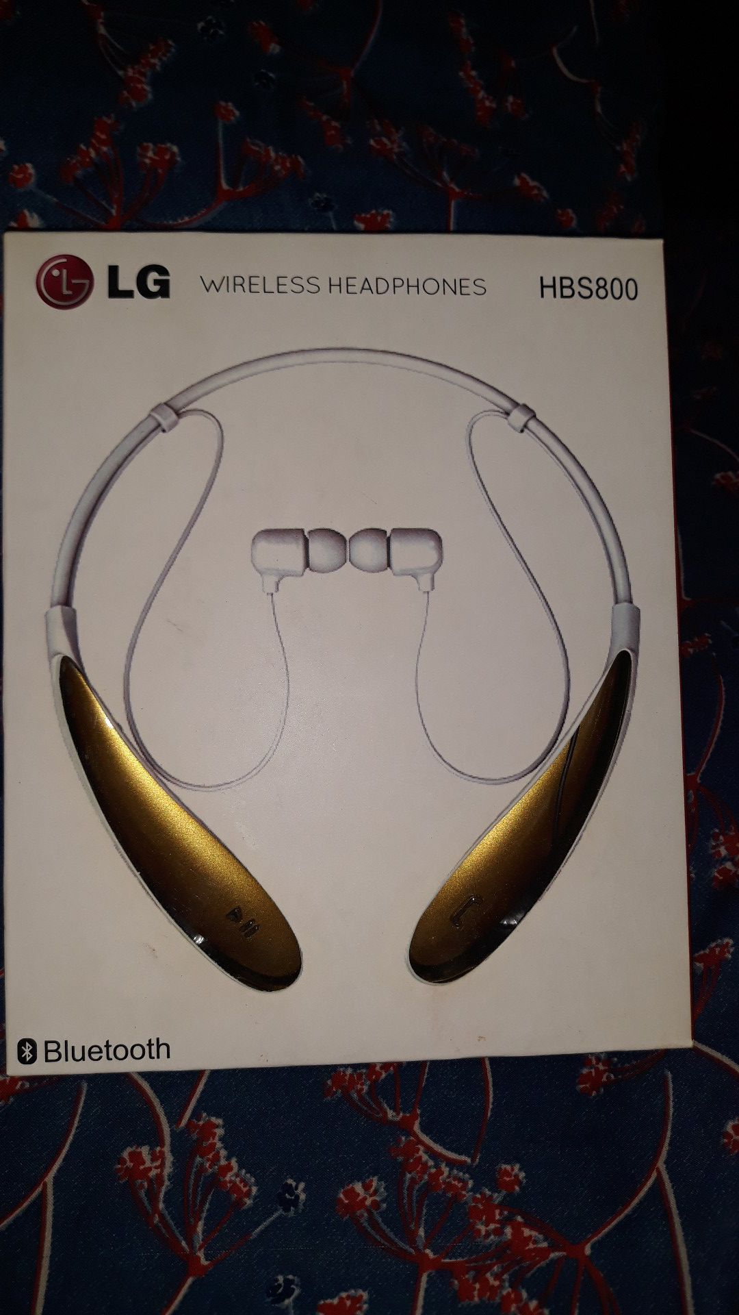 LG HBS800 WIRELESS HEADPHONES 4colors