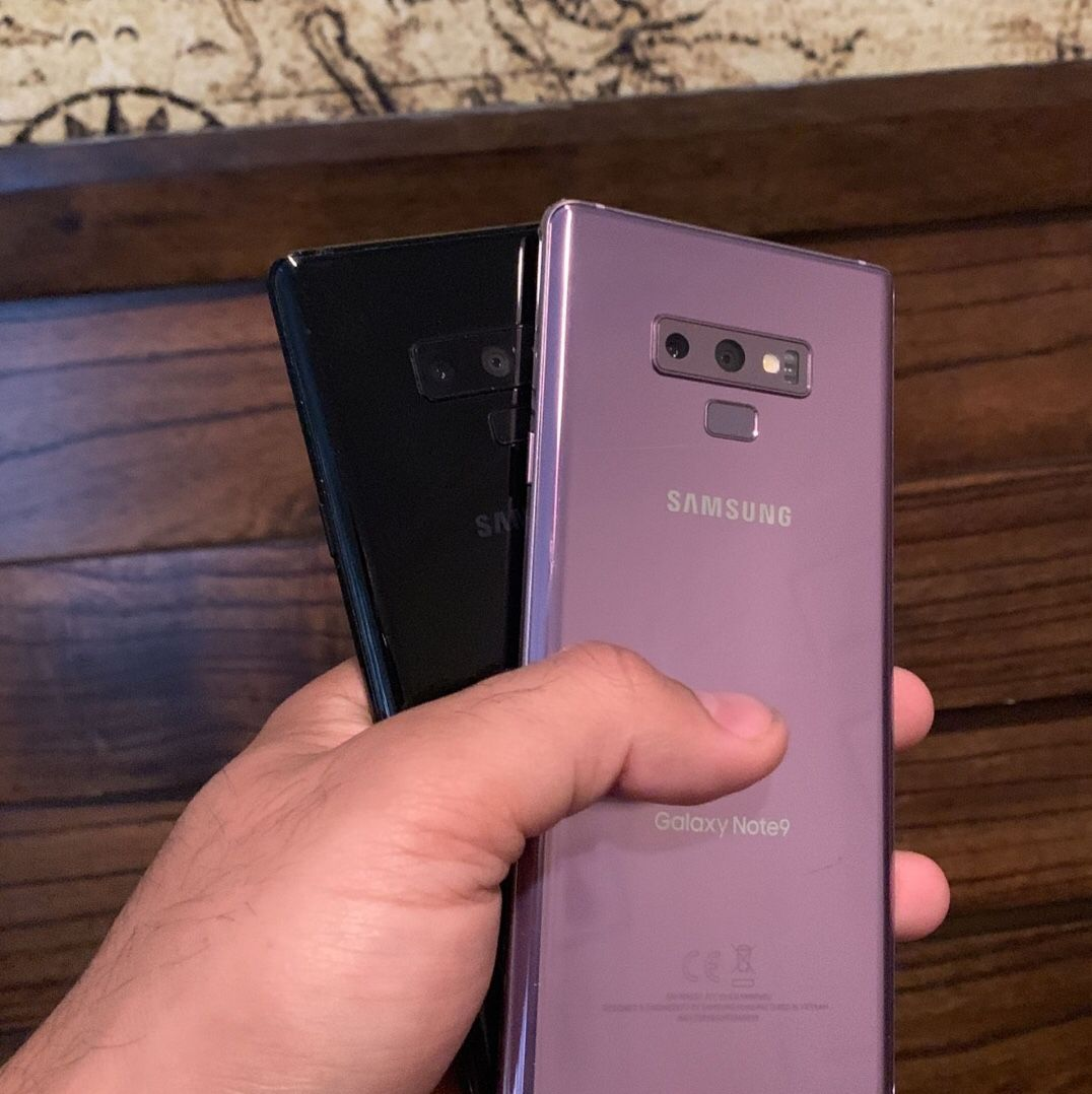 Samsung Galaxy Note 9 Unlocked - Different colors available 🌈