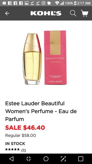 Beautiful by Estee Lauder 1oz for Sale in Pacifica, CA