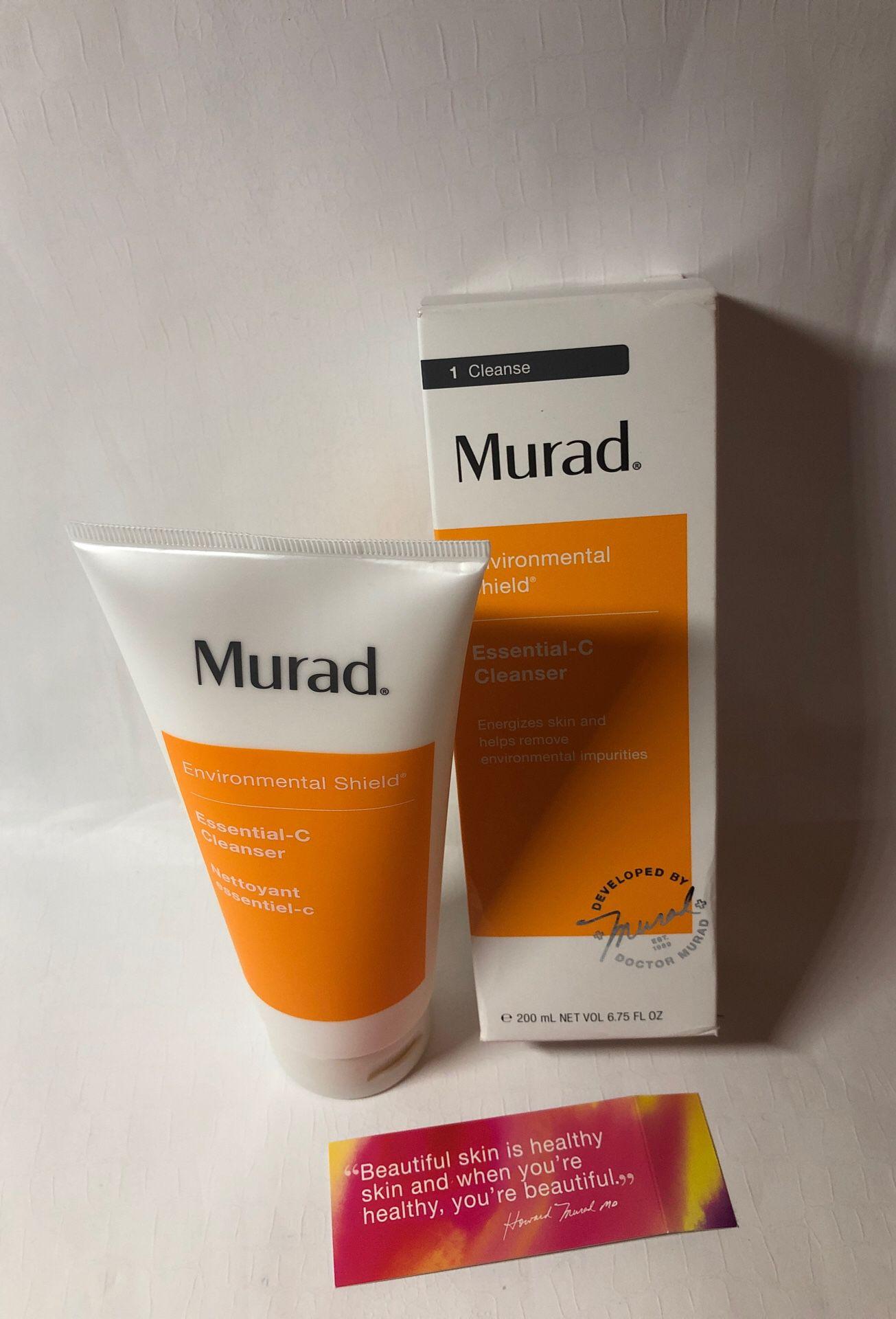 Murad Essential-C Cleanser, 6.75 oz New exp.08.2020