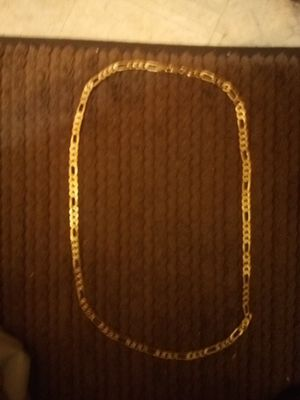 Photo 24 in. 14kt Gold necklace 14kt