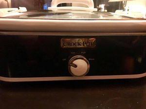 Crock-Pot, 3.5-Quart Casserole Crock Manual Slow Cooker, Navy Blue for Sale in Portland, OR