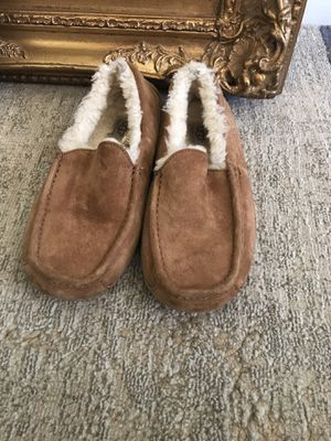 UGG MEN'S ASCOT SUEDE SLIPPERS for Sale in Falls Church, VA