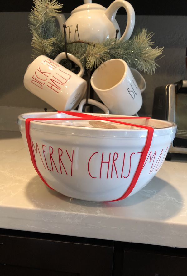 Rae Dunn Christmas Bowls.Rae Dunn Merry Christmas Happy Holidays Ho Ho Ho Mixing Bowls Melamine Collection For Sale In Calimesa Ca Offerup