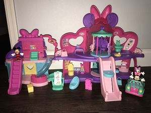 Disney Minnie Mouse Mickey Mouse huge lots of playsets toys collectibles for Sale in Oviedo, FL