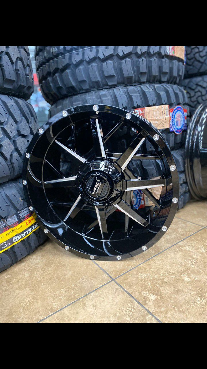 20x10 MONKEY WHEELS AND TIRES 33/1250/20