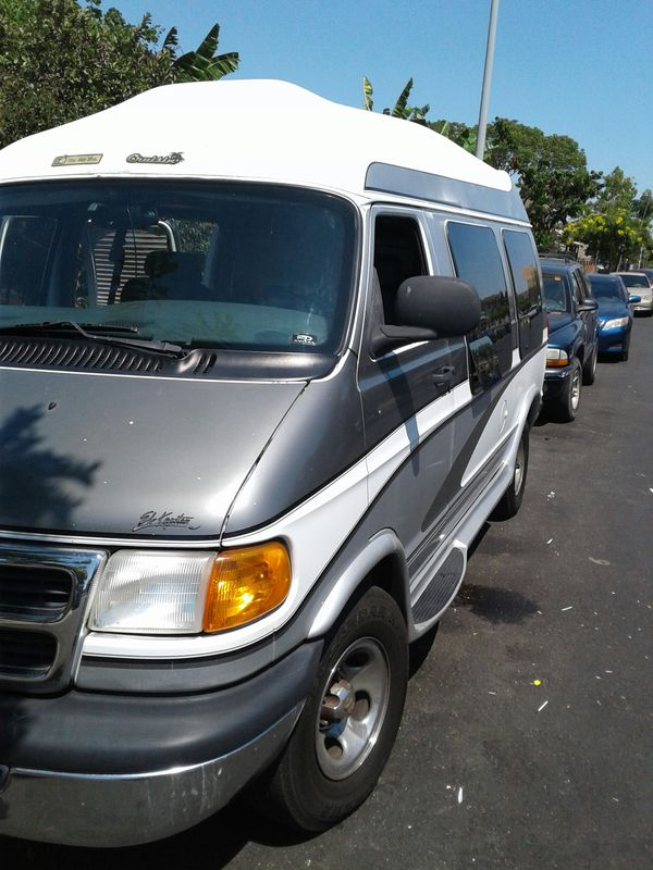 2000 Dodge Conversion Van For Sale In Los Angeles CA