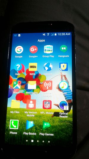 Unlock Samsung Galaxy S4 a few cracks but work perfect for Sale in Rockville, MD