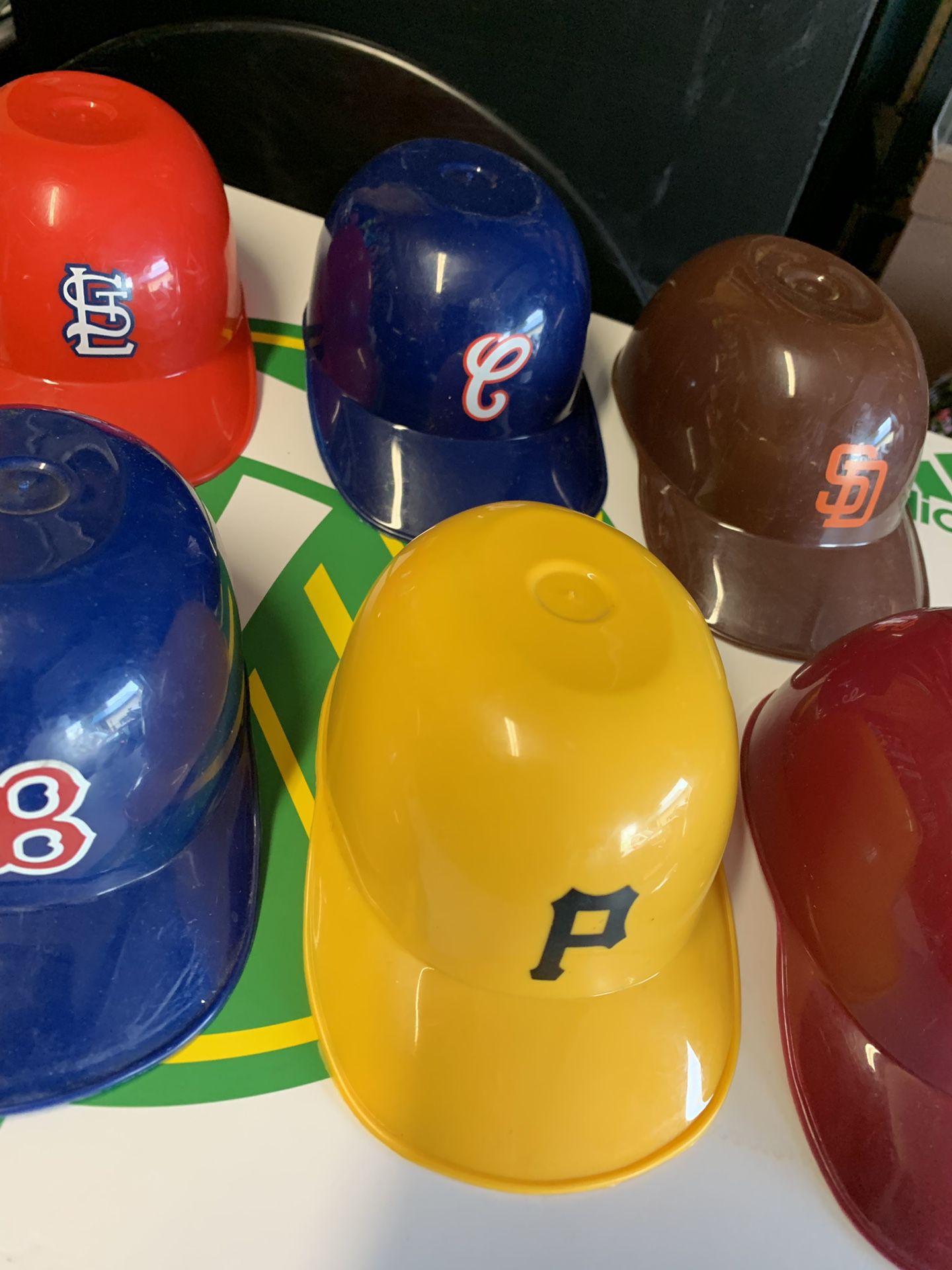MLB Sundae Helmet Lot