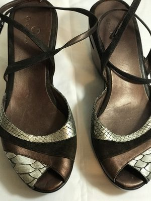 b3dd5001a7c7 Cole Hahn ankle strap wedge sandal with open toe   Nike Air sole for Sale in
