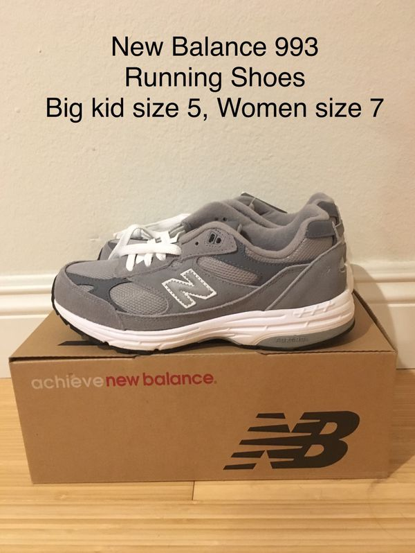a2c00328 NEW New Balance 993. Running shoes. Big Kid size 5, Women size 7 for ...