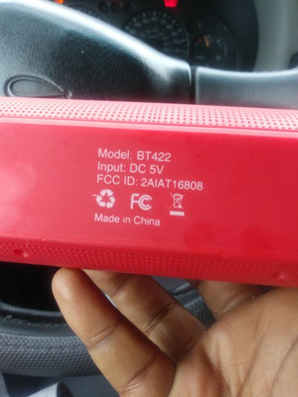 Bluetooth speaker 2boom model:bt422 for Sale in Dayton, OH