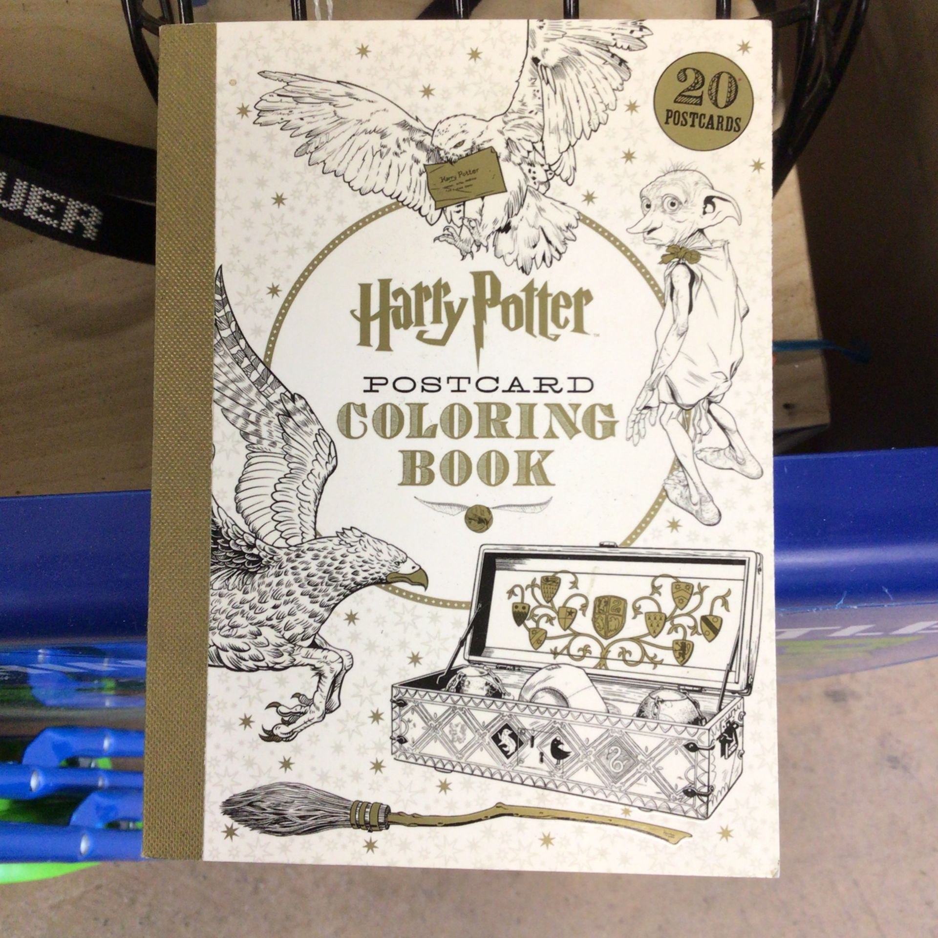 """Coloring Book Harry Potter 4""""x  6"""""""
