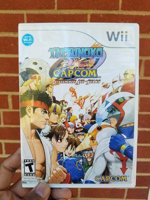 Tatsunoko vs. Capcom Wii Video Game for Sale in North Chesterfield, VA