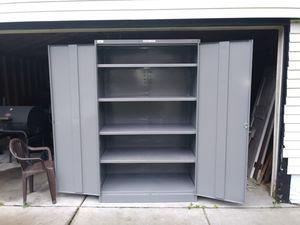 """(Tennsco) Combination """"Jumbo"""" Steel Storage Cabnet 6'6"""" (78"""") H, 4' W, 2' D for Sale in Detroit, MI"""