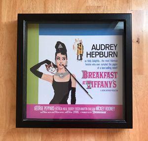 Breakfast At Tiffany's Framed Wall Art for Sale in Sterling, VA