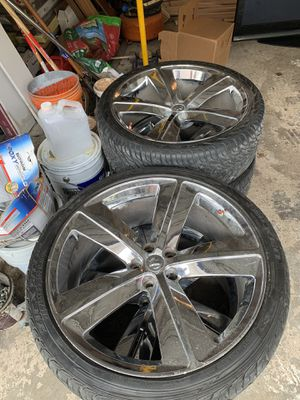 Photo 22'inch rims Dodge Charger