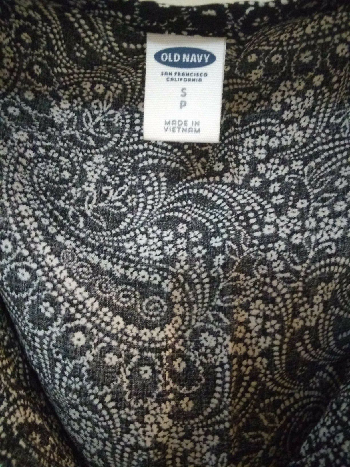 Black and white Old Navy dress, size Small
