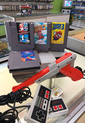 Nintendo Nes Super Mario Bros bundle for Sale in Houston, TX