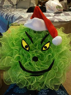 Grinch wreath for Sale in Dundalk, MD