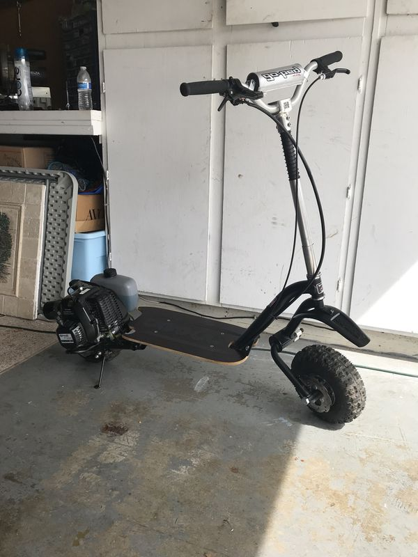 Goped Trail Ripper full suspension 46cc gas scooter - LIKE NEW for Sale in  Pleasanton, CA - OfferUp