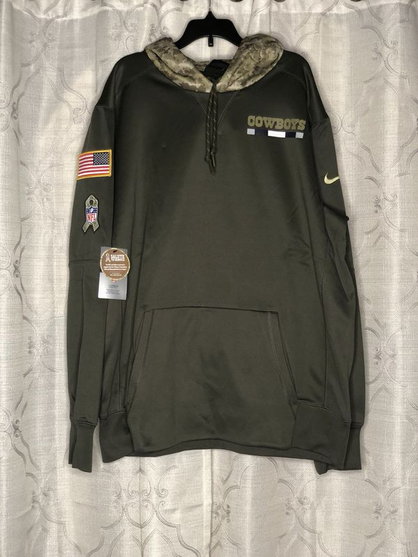 4d045625 NIKE Dallas Cowboys Salute to Service Hoodie Therma Size XL for Sale ...