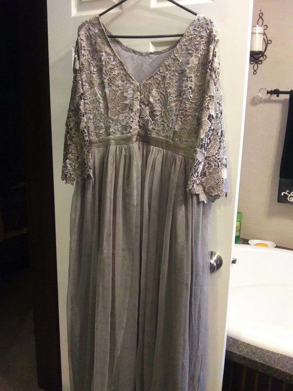 After five evening dress / party dress / mother of the bride dress