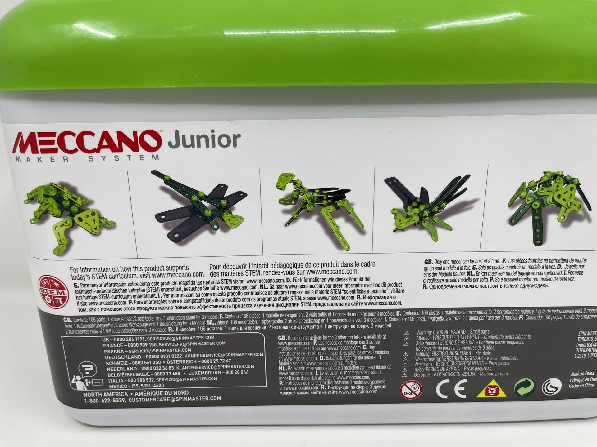 Meccano Junior Toolbox Insect Mania Multi Builds