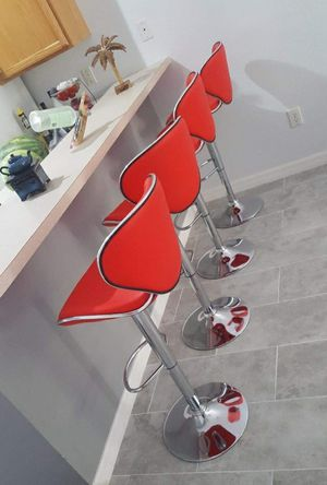 Set of bar stools brand new!!! Chairs sillas cadeiras for Sale in Kissimmee, FL