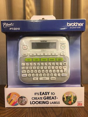 Brother PTD210 P-Touch Easy Compact Label Maker for sale  Tulsa, OK