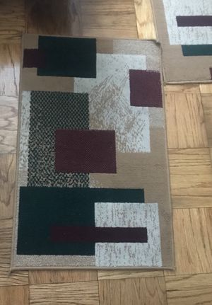 3 peice set are rug s with runner!! for Sale in Oxon Hill, MD