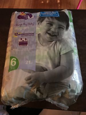 Giant Always my baby diapers size 6 (21 count) for Sale in Germantown, MD