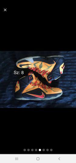 Mens Nike LeBron XII Witness Shoes Sz 8 Thumbnail