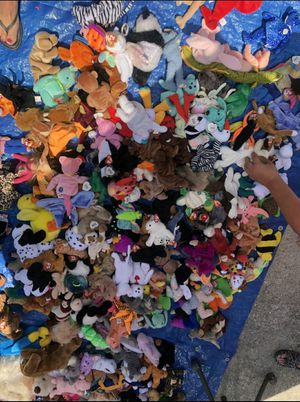Photo OVER 200 Ty Beanie Babies