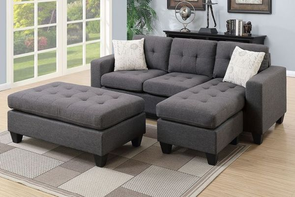 Swell 3 Piece Sectional Set With Ottoman For Sale In Santa Ana Ca Offerup Gmtry Best Dining Table And Chair Ideas Images Gmtryco
