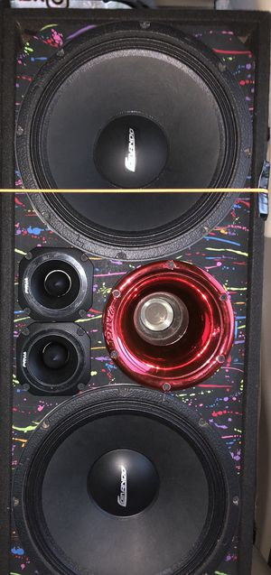 """Chuchero 12"""" comando prv audio, read details. for Sale in Orlando, FL"""