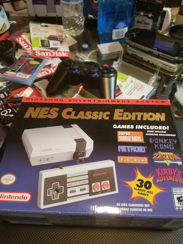 Modded Nes Classic Nintendo Mini 1300 Games Video Games In